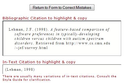 free citation generator